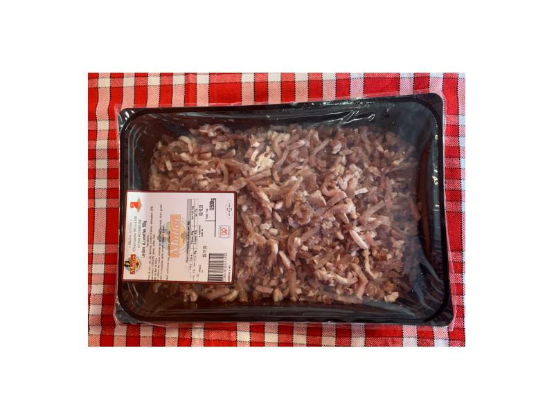 Lardons frais allumettes - 1Kg